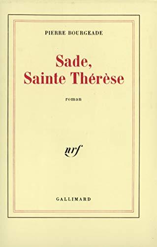 9782070711499: Sade, Sainte Thérèse