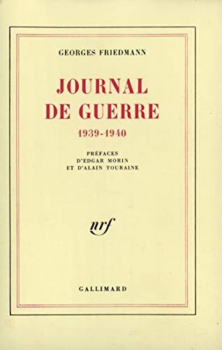 9782070711925: Journal de guerre: (1939-1940)