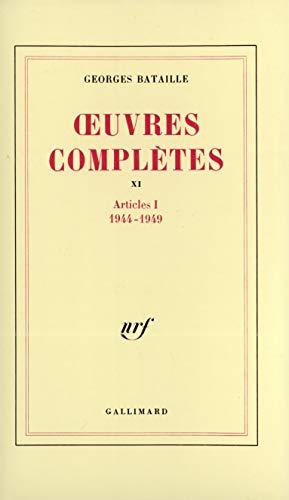 9782070712670: Œuvres complètes (Tome 11): Vol 11 (Blanche)