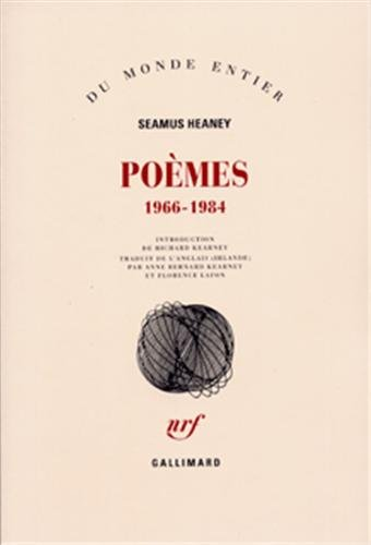 Poèmes, 1966-1984 (2070713415) by Heaney, Seamus