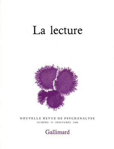 9782070713493: Nouvelle revue de psychanalyse 37 (la lecture) (French Edition)