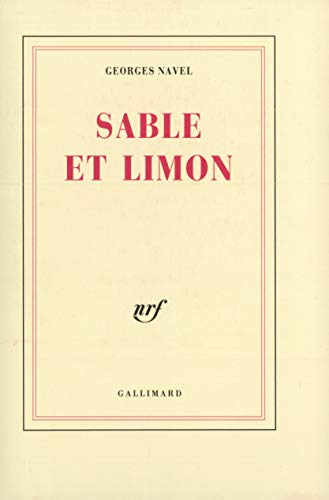 Sable et limon: Navel, Georges