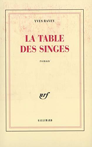 9782070714261: La Table des singes