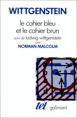 9782070714506: Le Cahier bleu et le Cahier brun