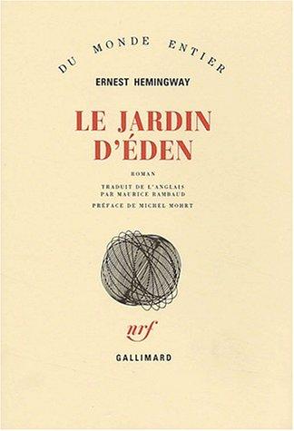 9782070714797: Le jardin d'Eden