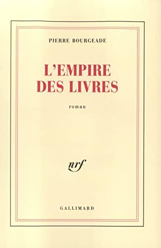 9782070716920: Lempire des livres (French Edition)