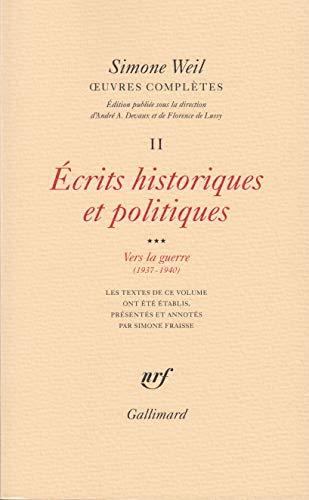 Oeuvres complètes: Weil, Simone; Devaux, André A; Lussy, Florence de