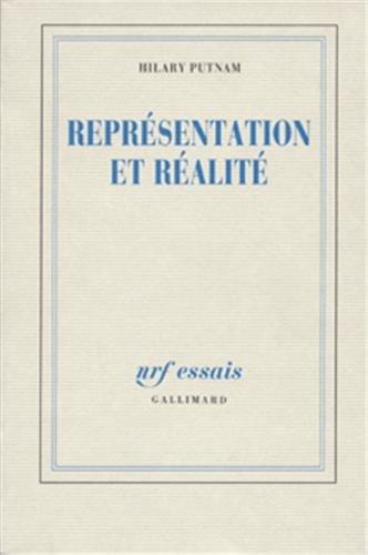 9782070718481: Représentation et réalité