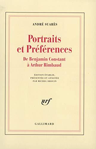 9782070720859: Âmes et Visages, II : Portraits et Préférences: De Benjamin Constant à Arthur Rimbaud