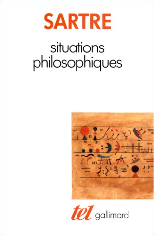 9782070720897: Situations Philosophiques (French Edition)