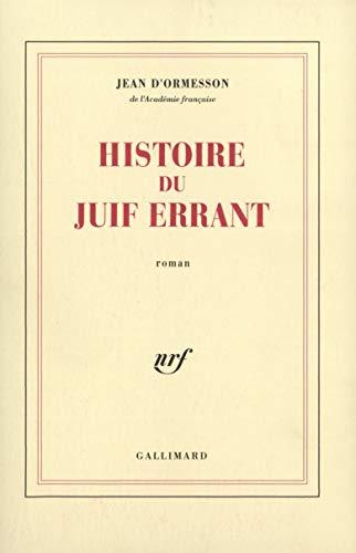 9782070720910: Histoire du Juif errant