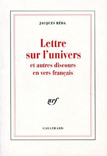 9782070721511: Lettre sur l'univers et autres discours en vers français