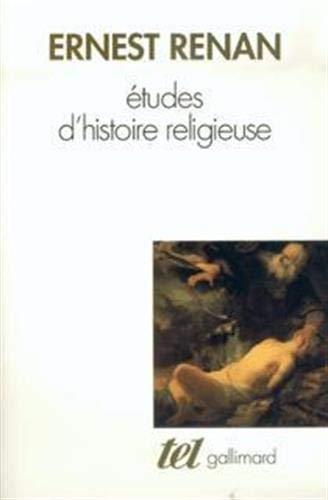 9782070721603: Etudes d'histoire religieuse