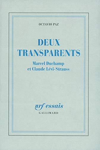 9782070721795: Deux transparents : Marcel Duchamps et Lévy Strauss