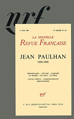 Jean Paulhan: La nouvelle revue