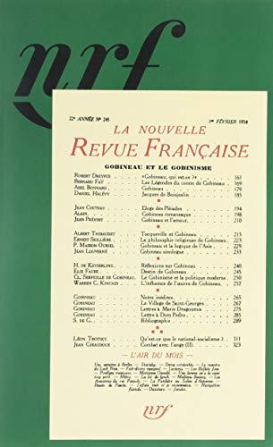 Gobineau et le Gobinisme: La Nouvelle Revue