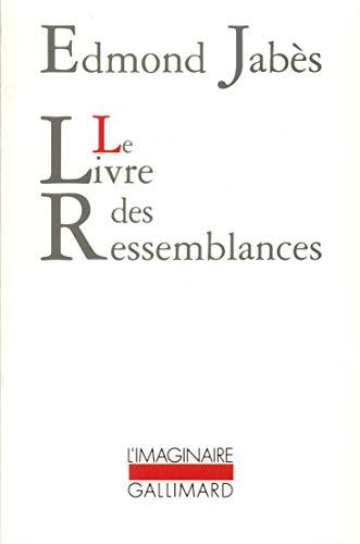 Le livre des ressemblances: Edmond Jabà s