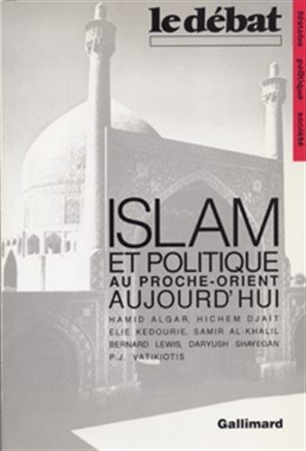 Islam et politique du Proche Orient: Collectif