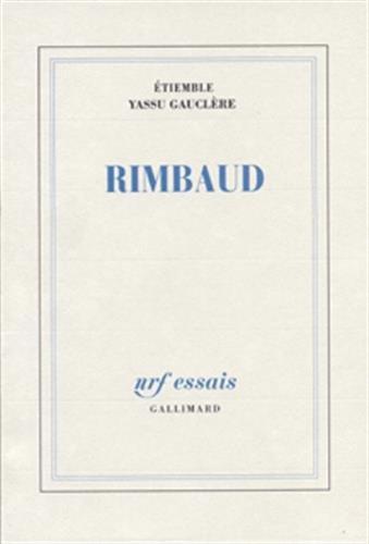 9782070724574: Rimbaud