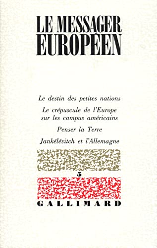 Le messager europeen (French Edition): Collectif
