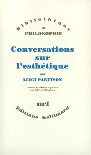 9782070725175: Conversations sur l'esth�tique