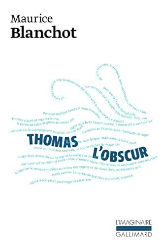 9782070725489: Thomas l'Obscur (L'Imaginaire)