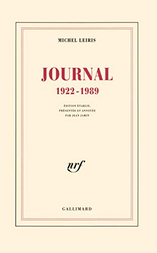 9782070726103: Journal, 1922-1989 (French Edition)