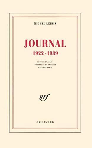 Journal, 1922-1989 (French Edition): Leiris, Michel