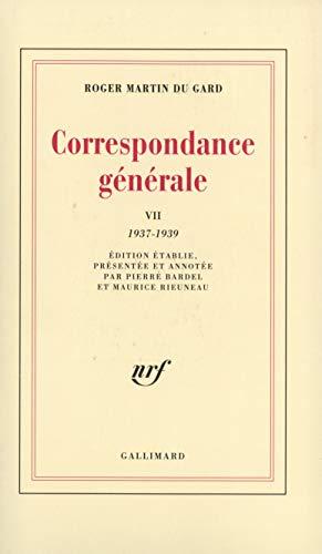 Correspondance générale: Martin du Gard, Roger; Rieuneau, Maurice