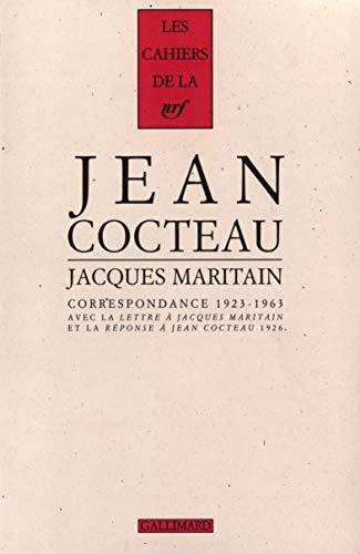 """Correspondence: (1923-1963) : avec la """"Lettre à Jacques Maritain et la """"R&..."""