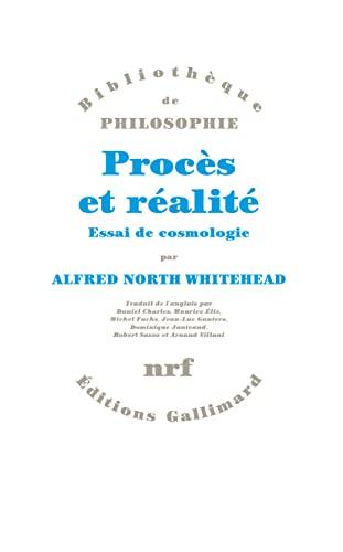 Procès et réalité (2070729079) by Whitehead, Alfred North