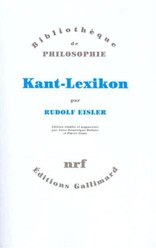 Kant-Lexikon: Eisler R