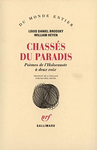 9782070730032: Chasses du paradis(poemes de l'holocauste a deux voix) (French Edition)