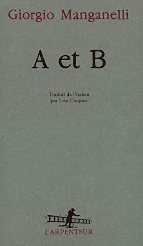 9782070730445: A et B
