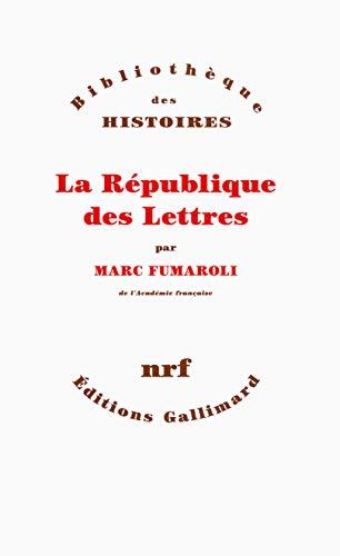 9782070730643: La République des Lettres