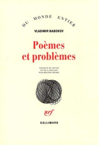 Poèmes et problèmes: Nabokov, Vladimir Vladimirovich; Henry, H�l�ne; Martel, Philippe