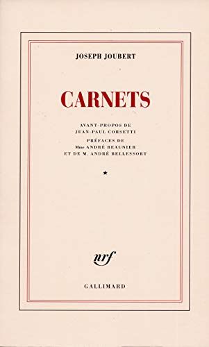 9782070732364: Carnets (Tome 1)