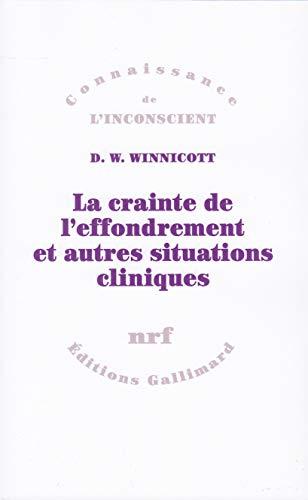La crainte de l'effondrement et autres situations cliniques: Winnicott
