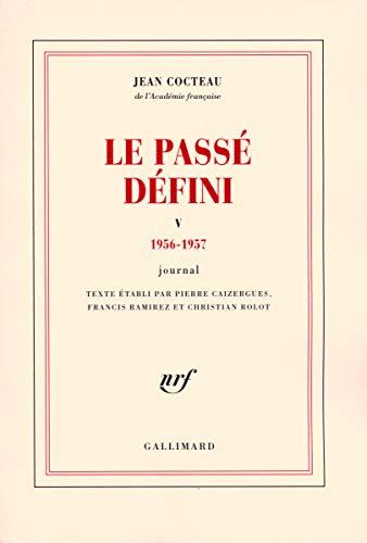 Le passé défini (French Edition): Jean Cocteau