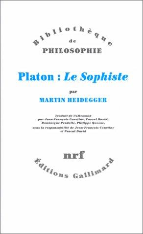 Platon : le sophiste: Heidegger, Martin