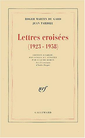 9782070734603: Lettres croisées, 1923-1958
