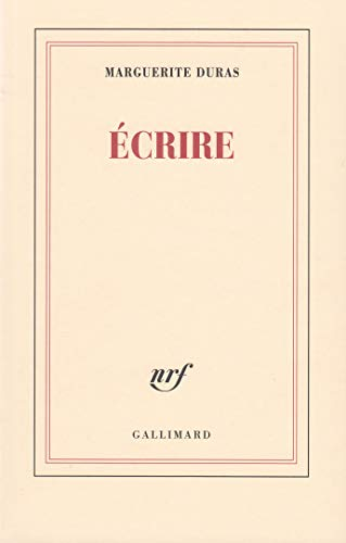 9782070736386: Ecrire (French Edition)