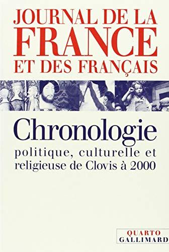 9782070737567: Journal de La France Et Des Francais