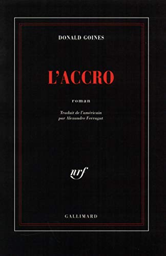 L'accro (2070738485) by Donald Goines