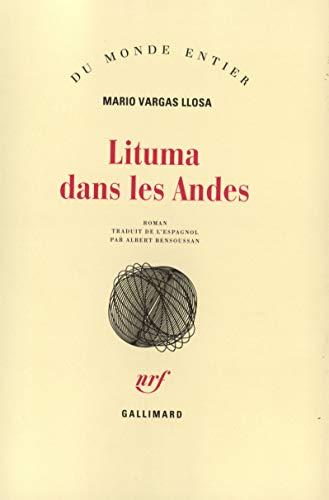 9782070739271: Lituma dans les Andes