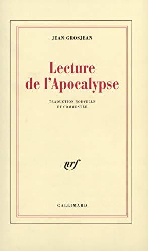 9782070739509: Lecture de l'Apocalypse