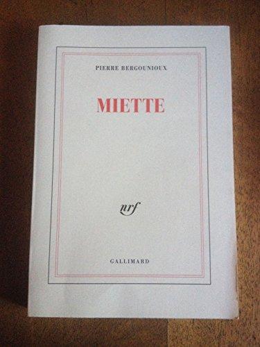 9782070740246: Miette