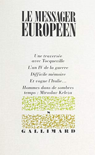9782070740864: Le messager europeen n8 (French Edition)