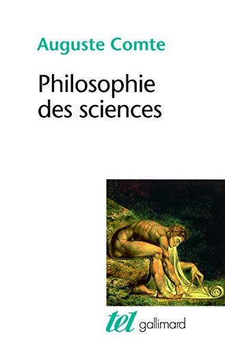 PHILOSOPHIE DES SCIENCES: COMTE AUGUSTE