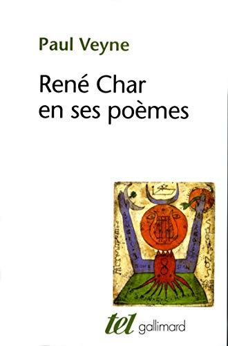 9782070741021: René Char et ses poèmes